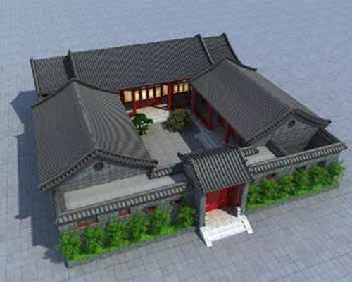 中式四合院装修